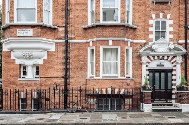 Życie ulicy w londynie