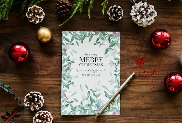 Życzenia świąteczne karty