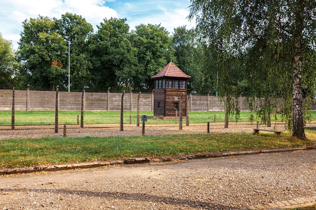 Żydowskie więzienie auschwitz oświęcim w okupowanej polsce podczas ii wojny światowej i holokaustu