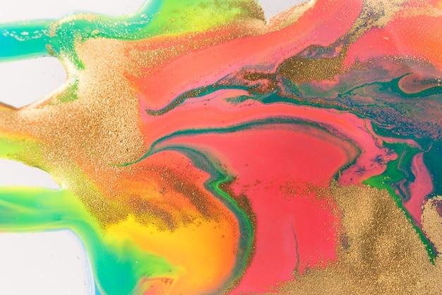 Żywa imitacja marmuru. fluorescencyjne jasne tło.