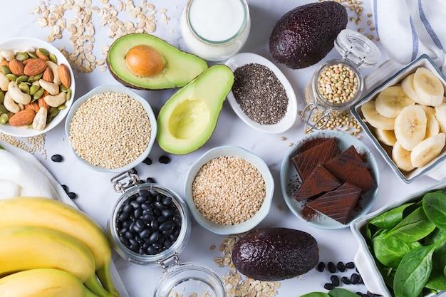 Żywność bogata w magnez, zdrowa dieta i dieta