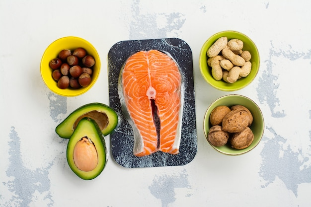 Żywność z tłuszczami nienasyconymi