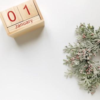 1 de enero día 1 del mes