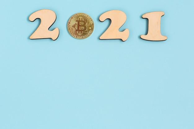 2021 y moneda de criptomonedas