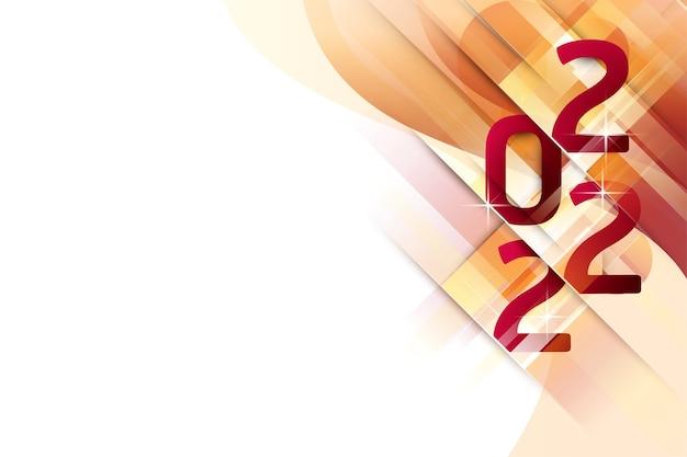 2022 fondo abstracto año nuevo.
