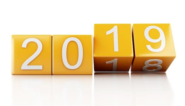 3d año nuevo 2019