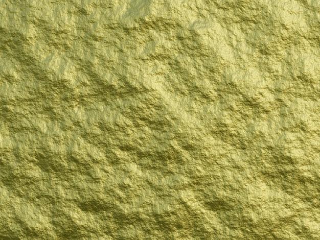 3d rindió la superficie de grano fino de textura de oro brillante de lujo de fondo de oro.