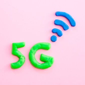 5g caracteres con baliza de señal