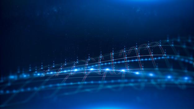 5g redes de internet. canal de transmisión de datos.