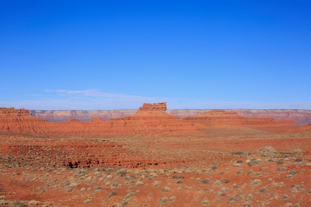 Abandone el paisaje en la primavera, utah, los eeuu