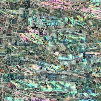 Abstract shell fragmenta la textura de los azulejos