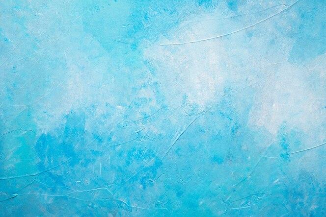 Abstracto azul pintado con textura de fondo