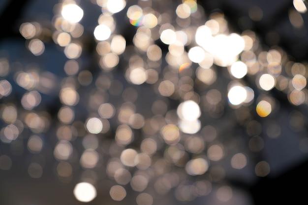 Abstracto borroso bokeh luz