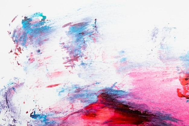 Abstracto colorido fondo de esmalte de uñas manchado