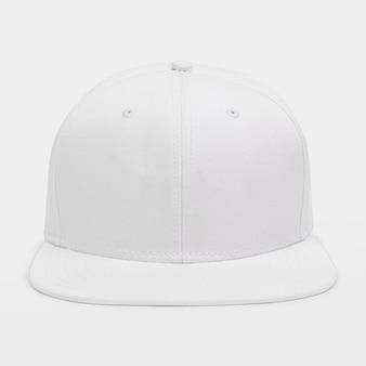 Accesorio simple gorra blanca para la cabeza