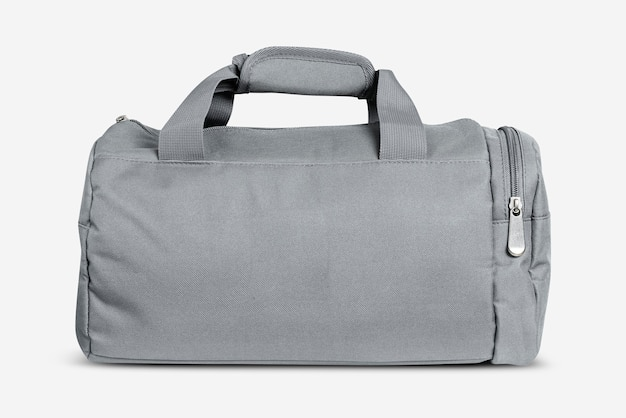 Accesorio unisex bolsa de deporte gris