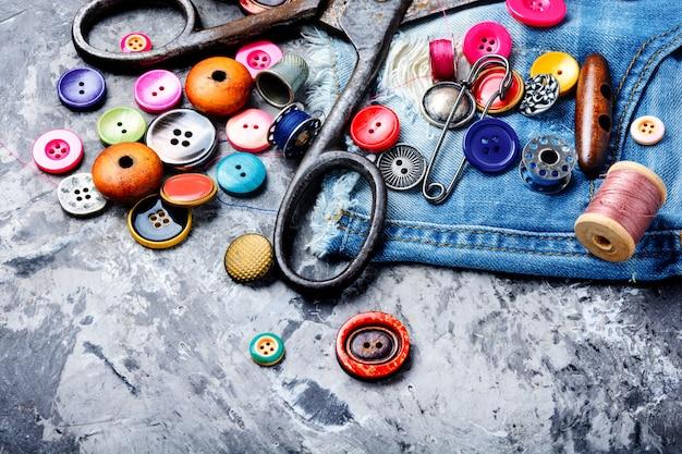 Accesorios de costura y tela