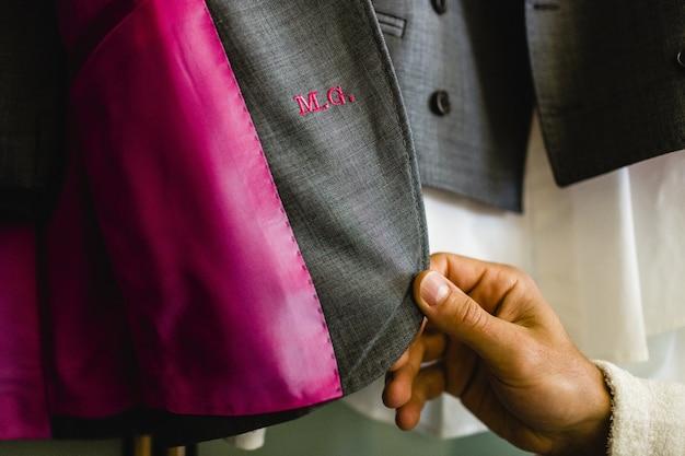 Accesorios de ropa para trajes de hombre.