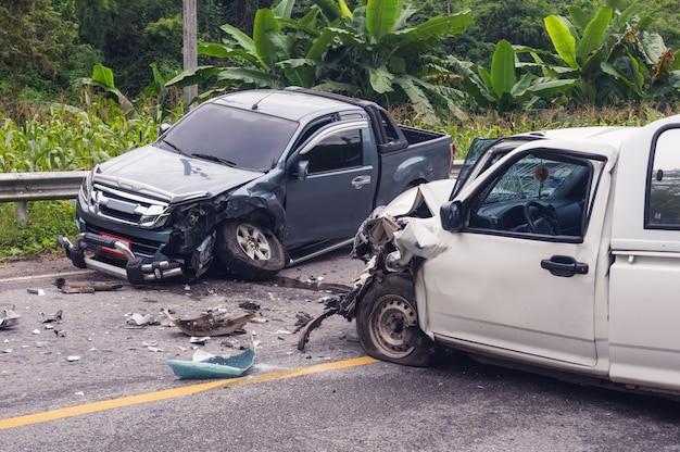 Accidente automovilistico