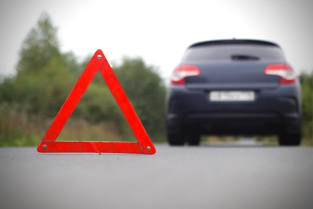 Accidente en la carretera.