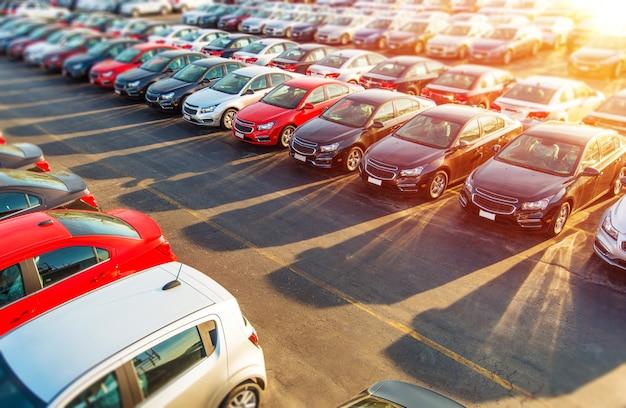 Acciones de dealer new cars