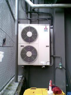 Acondicionador de aire sucio