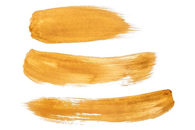 Acuarela abstracta sobre fondos blancos por uso café pintado sobre papel