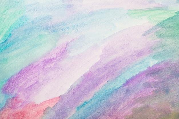 Acuarela de colores. pintado a mano con pincel