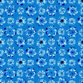 Acuarela de patrones sin fisuras con manchas y rayas abstractas