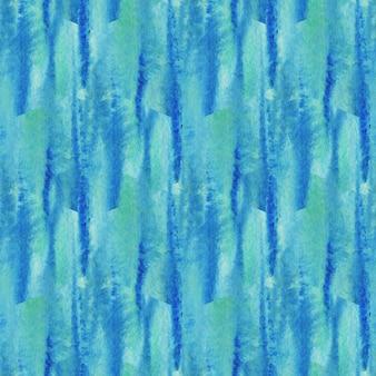 Acuarela de patrones sin fisuras textura. fondo turquesa moderno