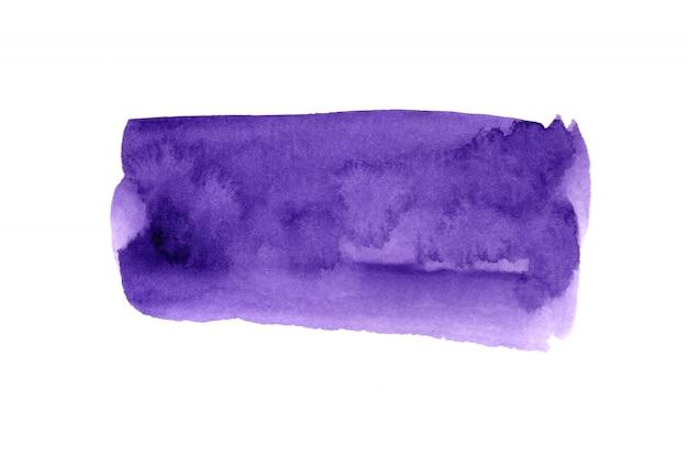 Acuarelas con imágenes artísticas abstractas de colores sobre papel blanco concepto de acuarela.