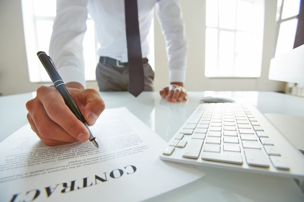 Acuerdo de asociación tratado oficina ejecutiva