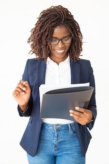Acuerdo de comprobación de experto legal seguro feliz