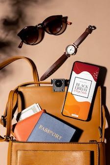 Acuerdo de venta de viernes negro con smartphone
