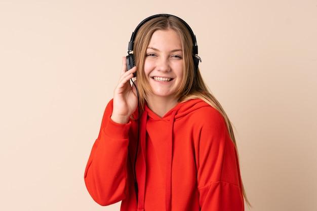 Adolescente ucraniana