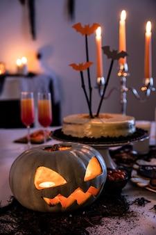 Adornos decorativos de fiesta de halloween