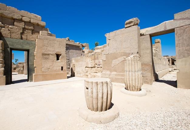 África, egipto, luxor, templo de karnak