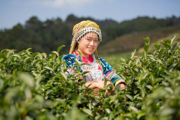 Agricultura de mujeres tribales