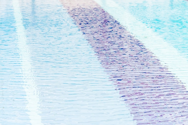 Agua de la piscina