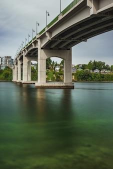 Agua bajo el puente