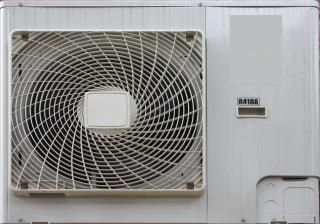 Aire acondicionado, ventilador
