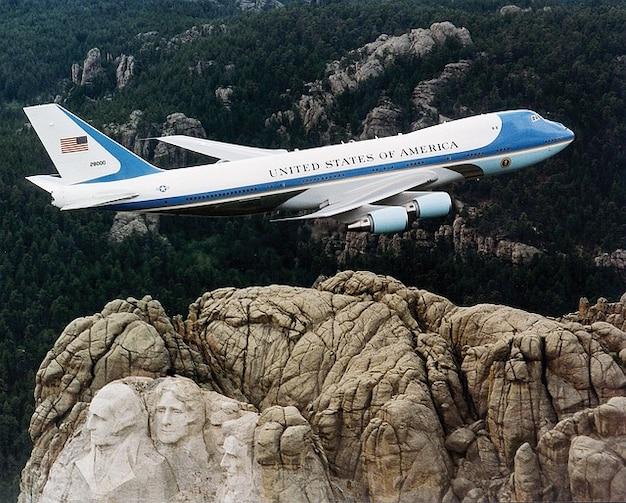 Aire máquina presidente vigor un avión