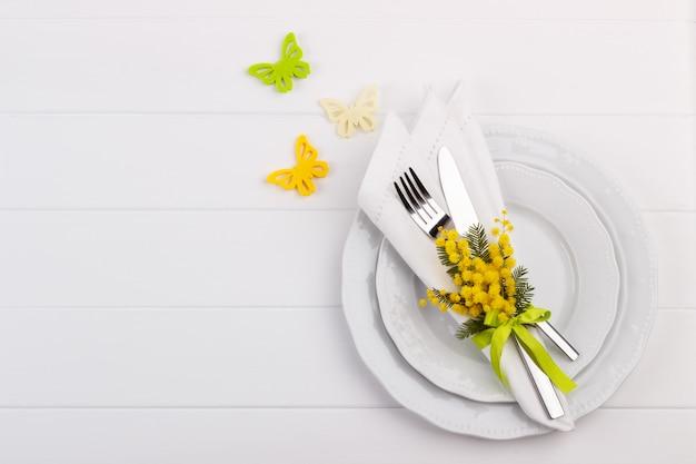 Ajuste de la mesa de primavera