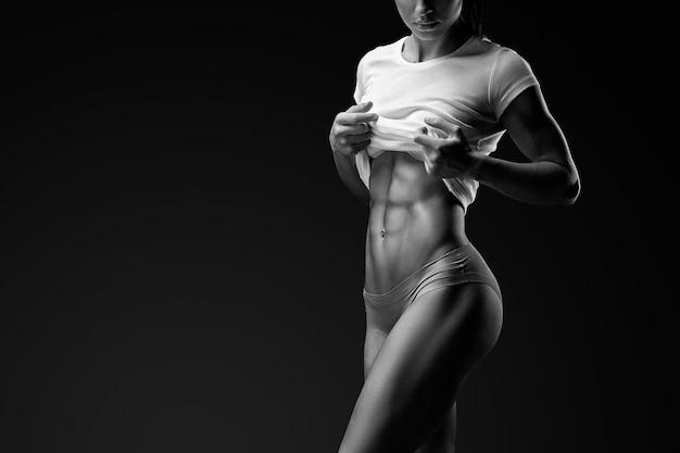 Ajuste perfecto del cuerpo de la mujer