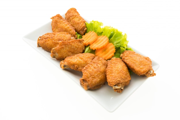 Ala de pollo frito