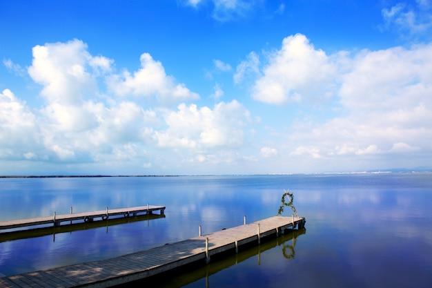 Albufera lago en valencia el saler