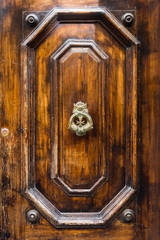 Aldaba de puerta decorativa