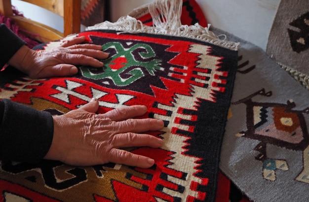 Alfombras búlgaras tradicionales