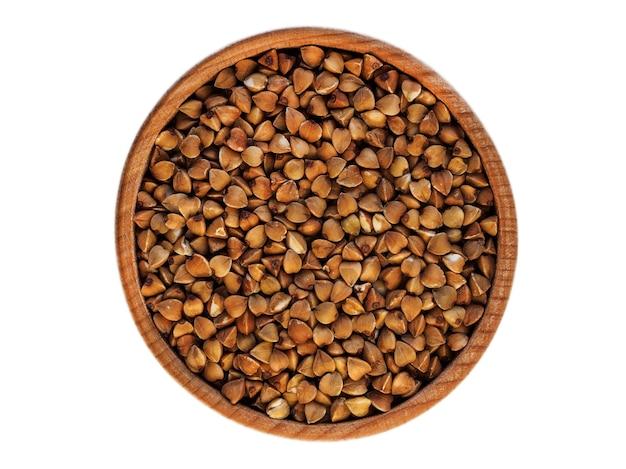 Alforfón en una taza de madera