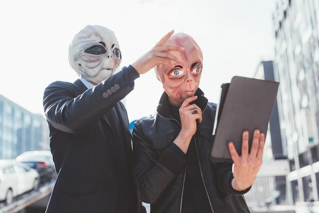 Alienígenas al aire libre